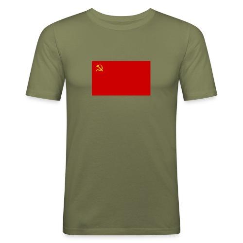 Eipä kestä - Miesten tyköistuva t-paita