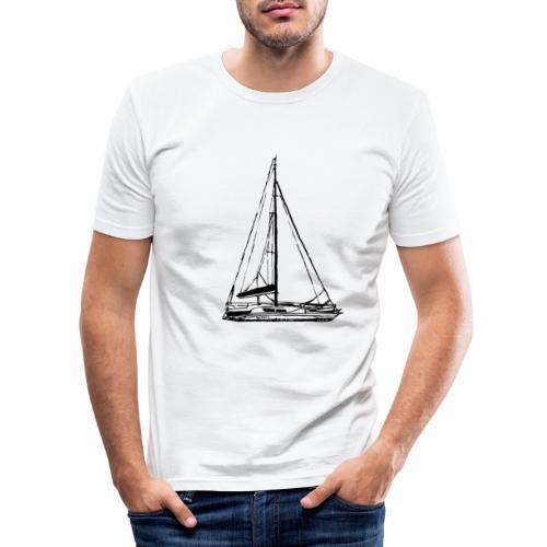 voilier - T-shirt près du corps Homme