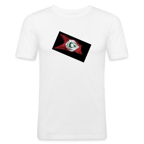 rif flag drapeau du rif de 1921 au 1927 Tamazgha.. - slim fit T-shirt