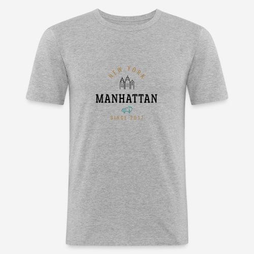 NEW YORK - MANHATTAN - Maglietta aderente da uomo