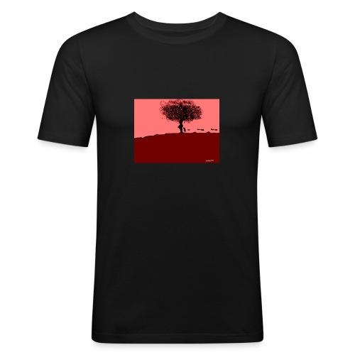 albero_0001-jpg - Maglietta aderente da uomo
