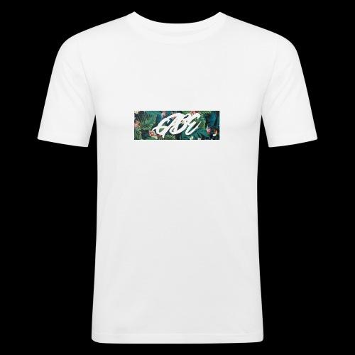 GABE FLOW - Männer Slim Fit T-Shirt