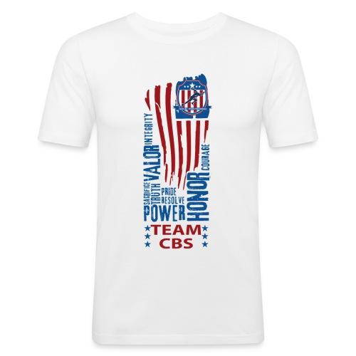 US CBS - Männer Slim Fit T-Shirt