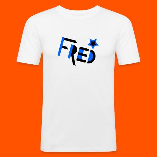 fred neu - Männer Slim Fit T-Shirt