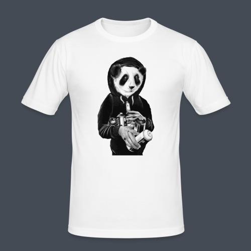 pandit graffiti bear - slim fit T-shirt
