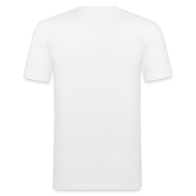 Vorschau: Cat Hipster - Männer Slim Fit T-Shirt