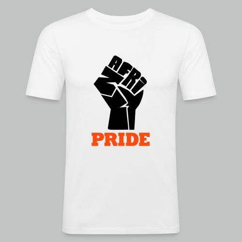nafri fist - pride - Männer Slim Fit T-Shirt