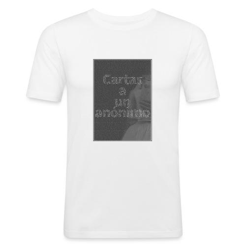 Cartas a un anónimo - Camiseta ajustada hombre