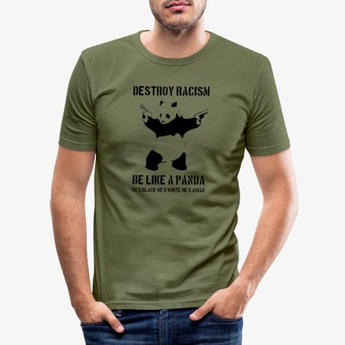 DESTROY RACISM - Men's Slim Fit T-Shirt