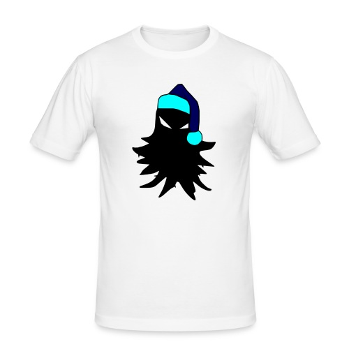 tricolored - Miesten tyköistuva t-paita