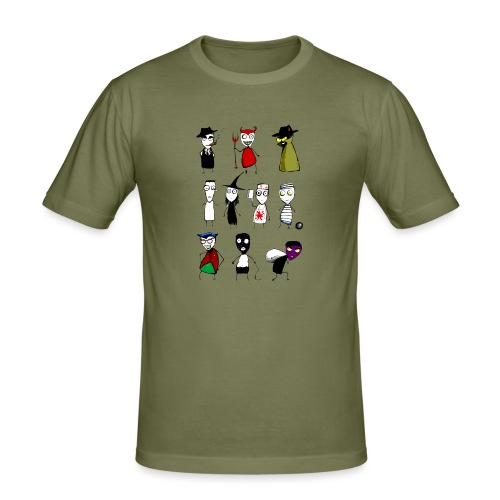 Bad to the bone - Men's Slim Fit T-Shirt