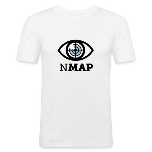Nmap Eye (II) - Men's Slim Fit T-Shirt