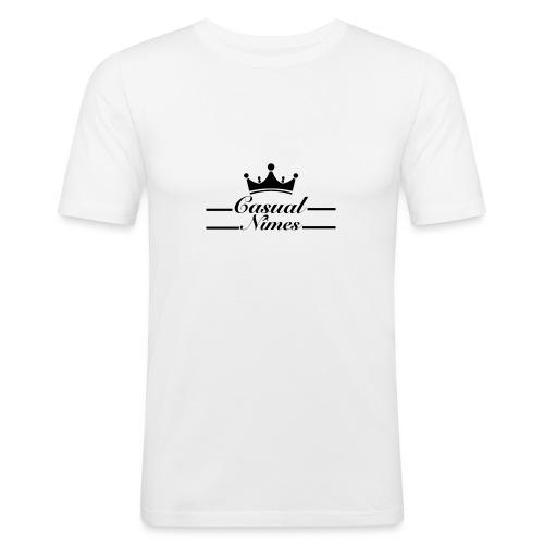 Casual Nîmes - T-shirt près du corps Homme