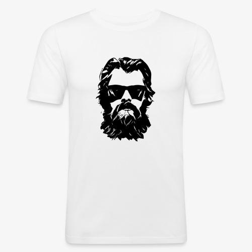beardface - Männer Slim Fit T-Shirt