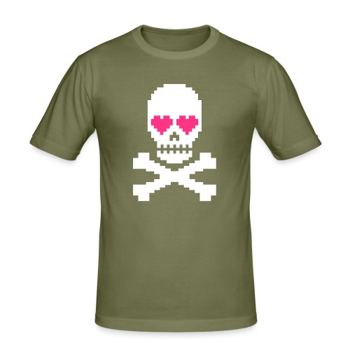 Skull Love - slim fit T-shirt