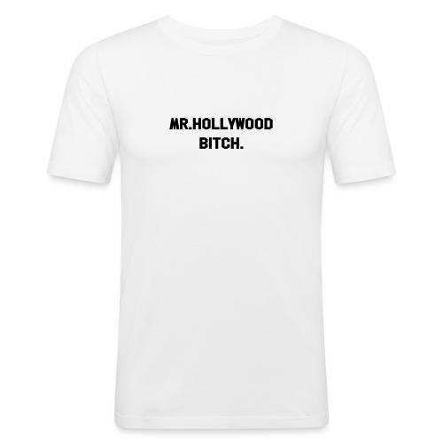Mr Hollywood - Slim Fit T-skjorte for menn
