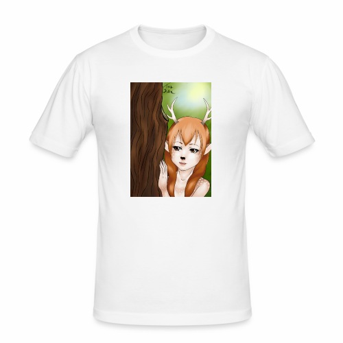 Sam sung s6:Deer-girl design by Tina Ditte - Men's Slim Fit T-Shirt