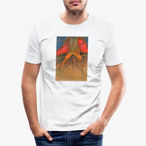 Roots - Obcisła koszulka męska