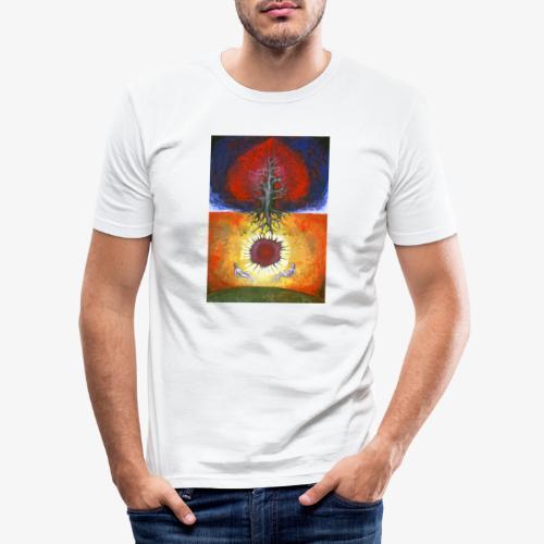 Safely - Obcisła koszulka męska