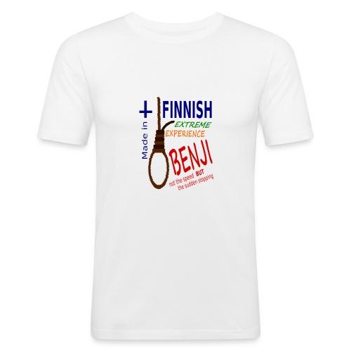 FINNISH-BENJI - Men's Slim Fit T-Shirt