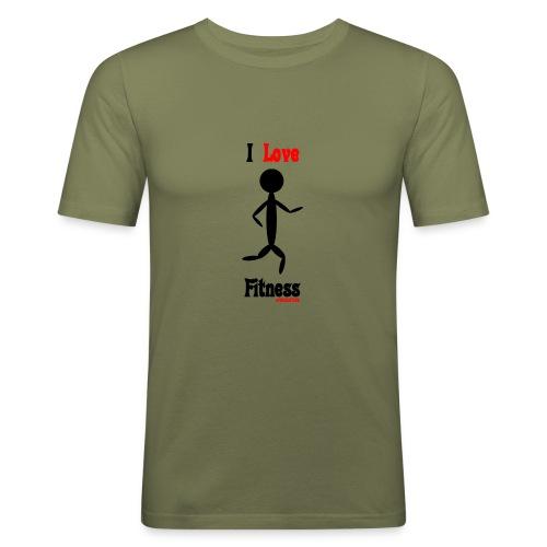 Fitness #FRASIMTIME - Maglietta aderente da uomo