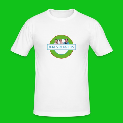 kungsbackaboys_stor-01 - Slim Fit T-shirt herr