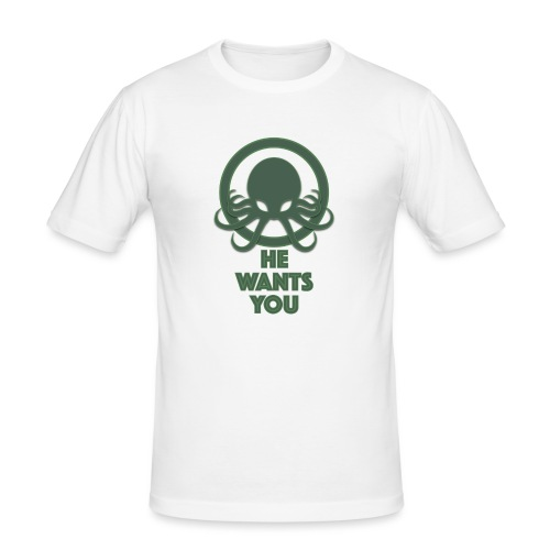 Cthulu wants you - Camiseta ajustada hombre