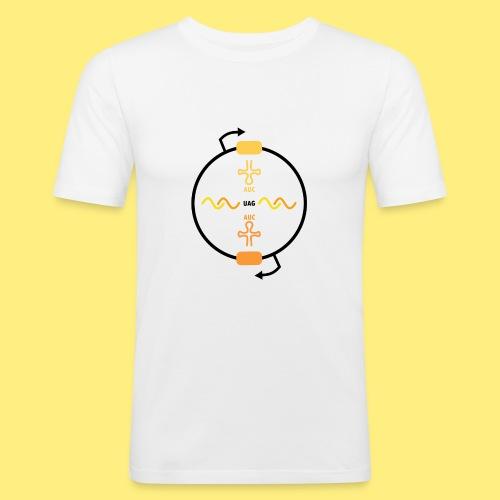Biocontainment tRNA - shirt women - Mannen slim fit T-shirt