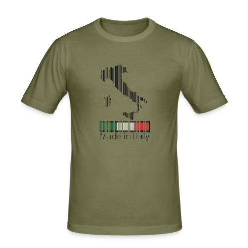 Made in Italy - Maglietta aderente da uomo