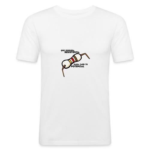 - ResistPotencial - - Camiseta ajustada hombre