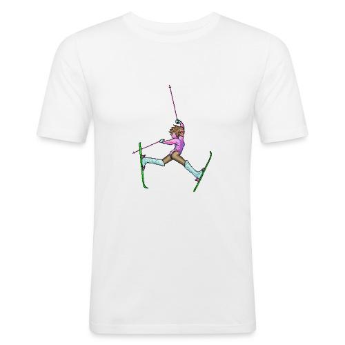 Hot Dogger - Miesten tyköistuva t-paita