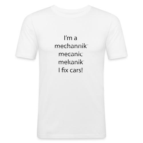 I fix Cars - Mannen slim fit T-shirt