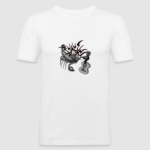 skorpion-gitarre - Männer Slim Fit T-Shirt