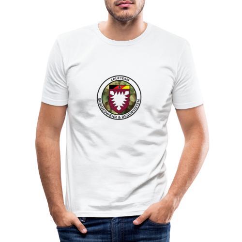 Logo des Laufteams - Männer Slim Fit T-Shirt