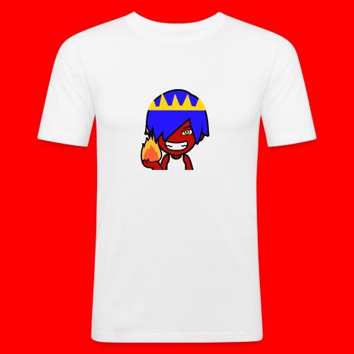 HeroCraftZ Holder en flamme - Slim Fit T-skjorte for menn