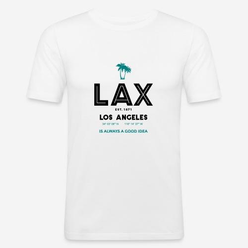 LAX è una buona idea!! - Maglietta aderente da uomo