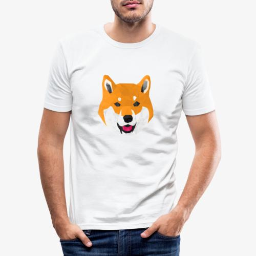 Shiba Dog - T-shirt près du corps Homme
