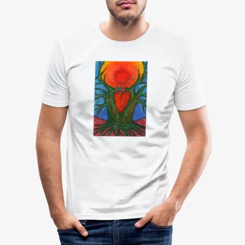 Greeting Of Joy - Obcisła koszulka męska