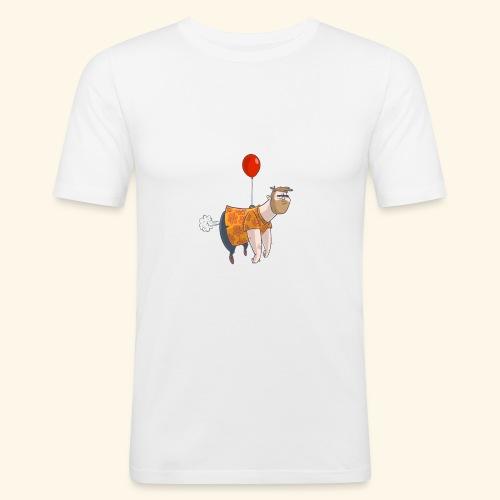 Ballon man - Mannen slim fit T-shirt
