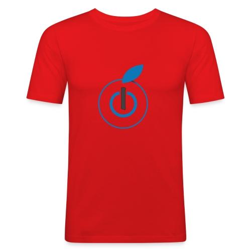 Logo AZ - Maglietta aderente da uomo