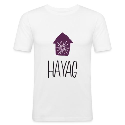 hayag - Männer Slim Fit T-Shirt