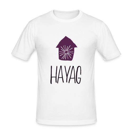 hayag - Männer Slim Fit T-Shirt