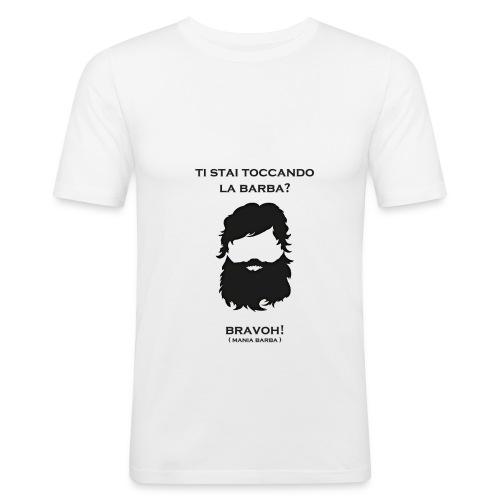 tistaitoccandolabarba png - Maglietta aderente da uomo