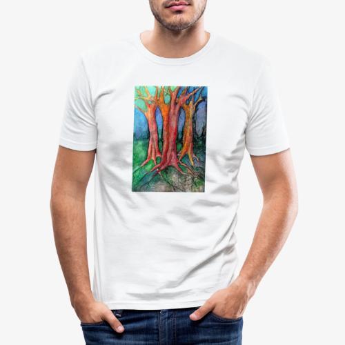They Came To Me About Dawn - Obcisła koszulka męska