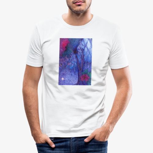 Forest Flower - Obcisła koszulka męska