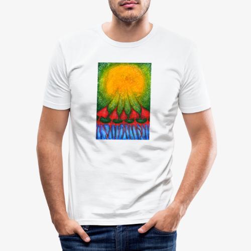 Nearer Sun - Obcisła koszulka męska