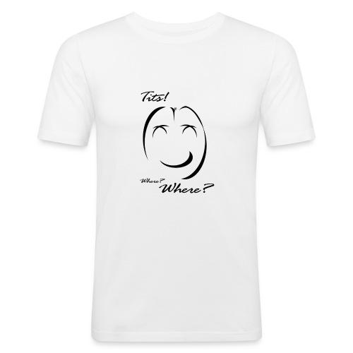 tits - Maglietta aderente da uomo