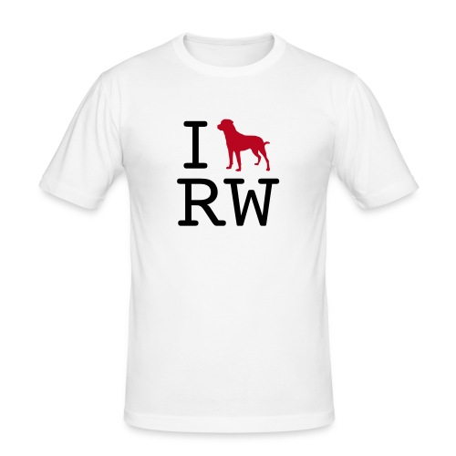 iloverottweil - Männer Slim Fit T-Shirt