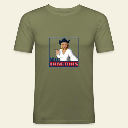 Miss Tractors Logo - Maglietta aderente da uomo