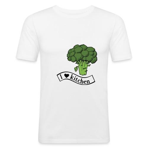 ilovekitchen-ts-4 - T-shirt près du corps Homme